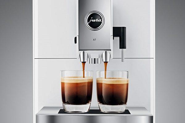 Jura A7 écoulement café