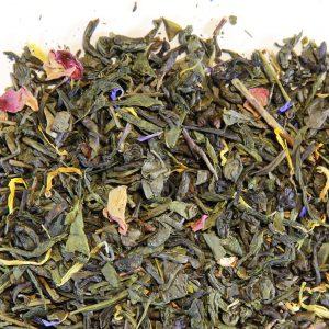 Thé verts parfumés