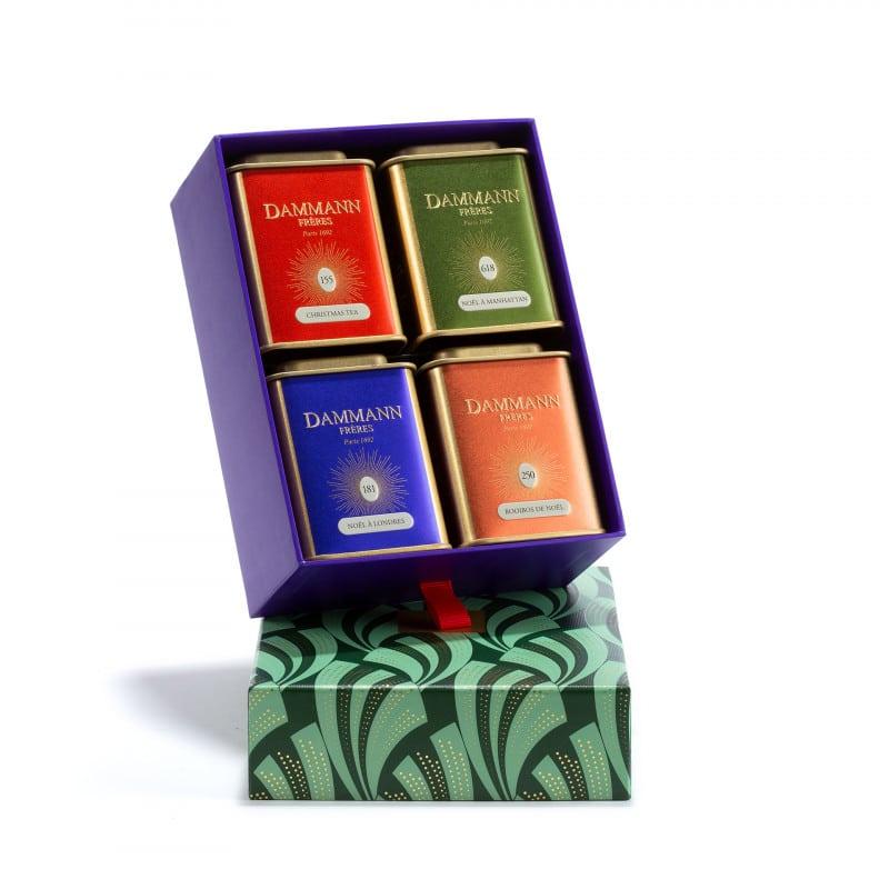 Coffrets de thés Noël Dammann