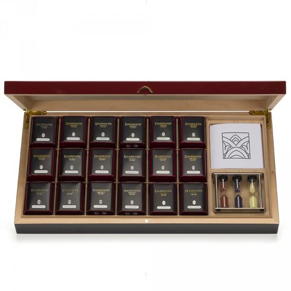 Coffrets de thés en boites Dammann